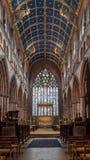 Carlisle Cathedral Nave A Royaltyfri Bild