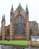 Carlisle Cathedral West Facade Royaltyfria Foton