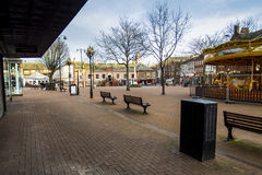 Carlisle City mitt Royaltyfria Foton