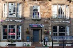 Carlisle, Cumbria, UK - 27 09 2020 Club Britannia Pub