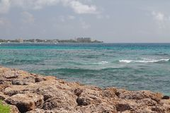Carlisle fjärd Bridgetown Barbados Arkivbilder