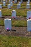 Carlisle Indian Industrial School Grave markörer Arkivbilder