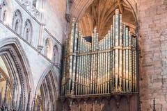 Carlisle katedry organy Obrazy Stock