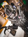 Cosplayer dressed as an `Alien` Royalty Free Stock Image