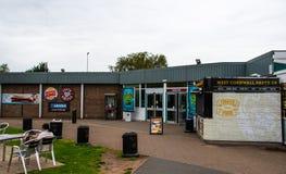 Southwaite Service Station royalty free stock photos