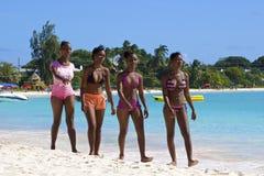 Carlisle zatoka, Barbados, Karaiby Obraz Stock
