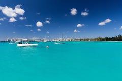 Carlisle zatoka w Barbados Fotografia Royalty Free