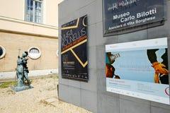 Carlo Bilotti Museum in Rome Stock Photo