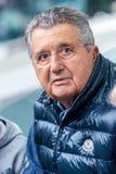 Carlo De Benedetti, włoski biznesowy mężczyzna Obraz Royalty Free