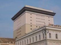 Carlo Felice-operahuis Genua Stock Fotografie