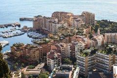 carlo fontvieille Monaco monte Zdjęcie Stock