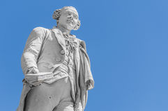 Carlo Goldoni statue located in Florence, Italy Royalty Free Stock Images