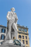 Carlo Goldoni statue located in Florence, Italy Stock Photography