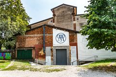 Carlo Maria Martini Diocese Museum, Mailand, Italien lizenzfreie stockfotografie