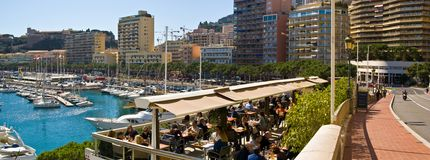 carlo monte Monaco Obraz Royalty Free