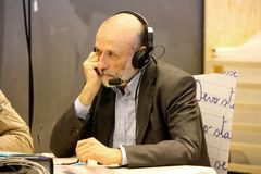 Carlo Petrini, Slow Food founder Royalty Free Stock Photo