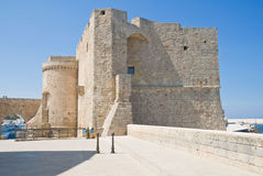 Carlo V Castle. Monopoli. Apulia. Stock Photo
