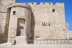 Carlo V Castle. Monopoli. Apulia. Stock Image