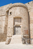 Carlo V Castle. Monopoli. Basilicata. Royalty Free Stock Photos