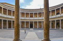 Carlo V Palace, Alhambra, Spain Royalty Free Stock Photography