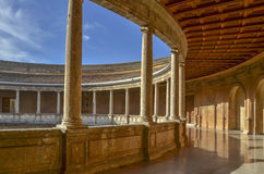 Carlo V Palace, Alhambra, Spain Royalty Free Stock Image