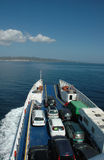 carloforte轮渡意大利撒丁岛 图库摄影