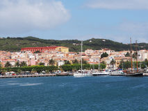 carloforte,圣彼得罗,撒丁岛,意大利 免版税库存照片