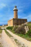Carloforte-Leuchtturm Stockbild