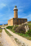 Carloforte lighthouse Stock Image