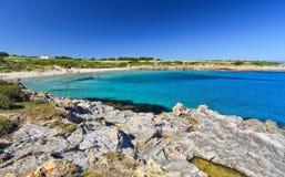 Carloforte - plage de Bobba de La Images stock