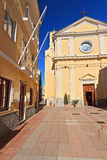 Carloforte - San Carlo church Royalty Free Stock Photos