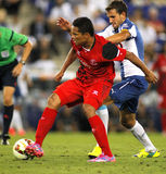 Carlos Bacca of Sevilla Royalty Free Stock Images