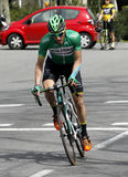 Carlos Barbero of Caja Rural Team Stock Photography