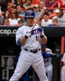 Carlos Beltran Nueva York Mets Imagen de archivo libre de regalías