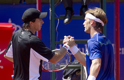 Carlos Berlocq and Daniel Gimeno-Traver Royalty Free Stock Photography