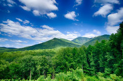 Carlos campbell overlook in great smoky  mountains Royalty Free Stock Image