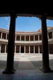 carlos charles de slott palacio v Royaltyfri Bild
