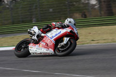 Carlos Checa - Ducati 1098R - Althea Racing Royalty Free Stock Photography