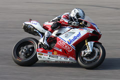 Carlos Checa - Ducati 1098R - Althea Racing. In the world Superbike Championship SBK Stock Photos