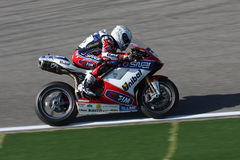 Carlos Checa - Ducati 1098R - Althea Racing Royalty Free Stock Image