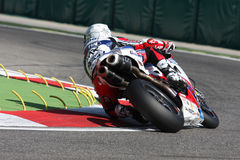 Carlos Checa - Ducati 1098R - Althea Racing Stock Image