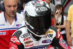 Carlos Checa - Ducati 1098R - Althea Racing stock photo