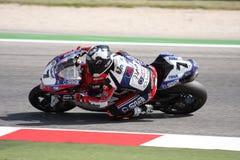 Carlos Checa - Ducati 1098R - Althea Racing royalty free stock images