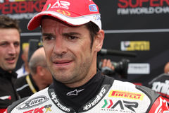 Carlos Checa - Ducati 1098R - Althea Racing Royalty Free Stock Photos