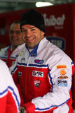 Carlos Checa - Ducati 1098R - corsa di Althea Immagini Stock