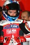 Carlos Checa #7 on Ducati 1199 Panigale R Team Ducati Alstare Superbike WSBK Stock Photo