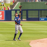 Carlos Correa Catches Pop Fly Houston Astros Stock Fotografie