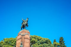 Carlos De Alvear statua w Buenos Aires, Argentyna zdjęcia royalty free