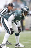 Carlos Emmons. Philadelphia Eagles LB Carlos Emmons, #51. (image taken from color slide royalty free stock images
