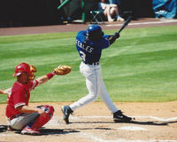 Carlos Febles, Kansas City Royals Royalty Free Stock Images